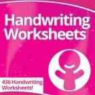This Handwriting Worksheets Super Pack download includes 436 Handwriting Worksheets!