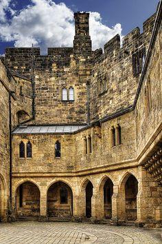 #Alnwick Castle, England