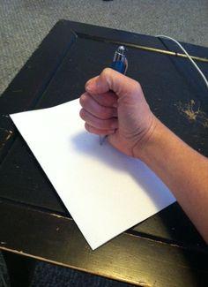 Development of a Writing Grip