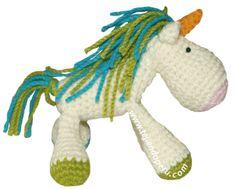 Cómo tejer un unicornio a crochet (amigurumi unicorn tutorial)