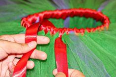 treasures for tots: DIY: Satin Wrap A Tutu