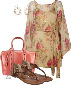 """Leather Sandals"" by christa72 ❤ liked on Polyvore"