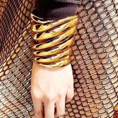 he Safari cuff from my #rachelzoe spring collection looking beyond glam