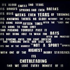 Cheerleading.❤