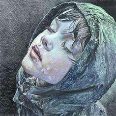 artists, drawings, maria zeldi, the artist, paintings, colored pencils, pencil art, rain, watercolor pencils