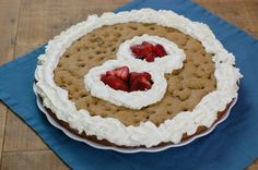 Cookie cake recipe by 100 Days of Real Food