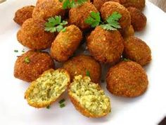 Falafel Recipe from the Moosewood Cookbook.