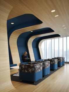 I'm not sure kids would feel comfortable here, but it's a nice space.  Randall Children's Hospital / ZGF Architects LLP