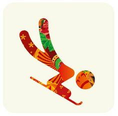 Sochi Winter Olympics 2014 Pictogram