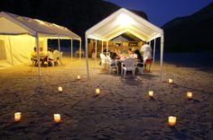 Camping at Espiritu Santo w/ FunBaja tours!