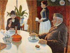 Breakfast, Paul Signac  https://www.artexperiencenyc.com/social_login/?utm_source=pinterest_medium=pins_content=pinterest_pins_campaign=pinterest_initial