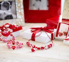 Pier 1 Heart Jewelry is a fun nod to the heartfelt holiday