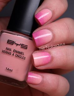 Ombre Nails with a sponge Tutorial