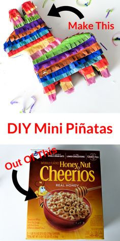 Make Mini Pinatas ou