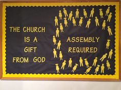 Columbiana Church of Christ: Bulletin Boards gift, bulletin board, church of christ, church bulletin