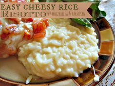 Easy Cheesy Rice Risotto from Budget Girl --- Uses simple ingredients, takes only 20 minutes to make, and your family will LOVE it!