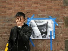 Liu Bolin and JR's Camouflaging Collaboration