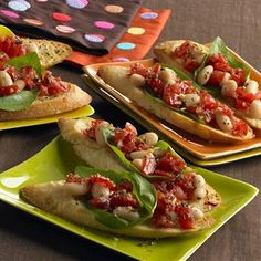 party appetizers, food appetizers, new recipes, ideal parti, parti appet, mediterranean white, white bean, bean bruschetta, light