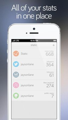 Static for iPhone  By Jayson Lane