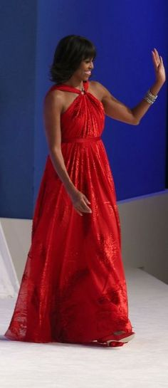 Michelle Obama's Inauguration Gown - 2013