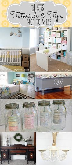 15 Home Tips & tutorials and tips~