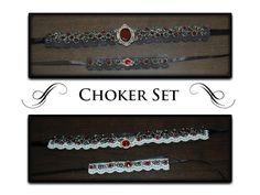 Beautiful Gothic Chokers #howto #tutorial
