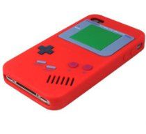 [Red] Nintendo Game Boy Case Cover For iPhone 4/4S