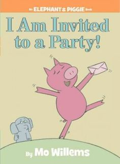 "Tuesday, July 29, 2014. Attending her first party, Piggie follows ""party expert"" Gerald the elephant's advice on what to wear, with surprising results."
