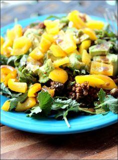 Quick & Easy Vegan Quinoa Lentil Salad - great for lunch or dinner.