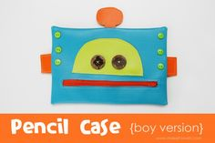 Make it and Love it - boy pencil case