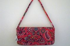 Vera Bradley Purse Knot Just A Clutch Call Me Coral New with Tag Retail $54 | eBay $19.95