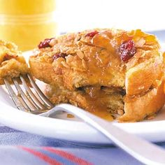 Berry-Nut French Toast