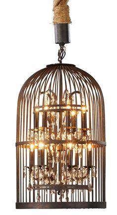 industrial glam chandelier