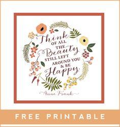Free Fall Printable on the Kelly Jane Creative blog