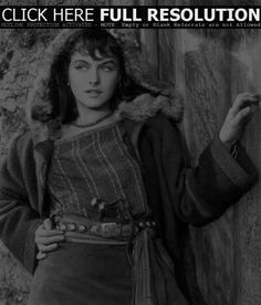 Paulette Goddard - North West Mounted Police north west, paulett goddard, vintag nude, west mount, mount polic