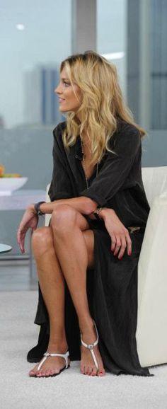 Anna Rubik Long Black Dress