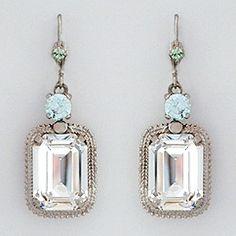 icy Winter Bride earrings