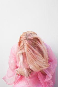 pink hair - so pretty
