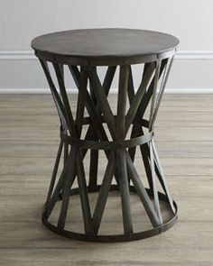 H4QVC Rustic Side Table