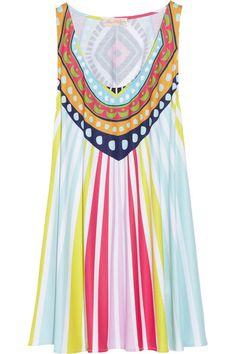 MARA HOFFMAN Rays jersey mini dress