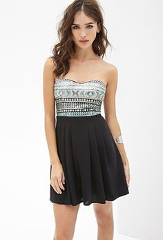 Sequined Combo Dress | FOREVER21 - 2000056759