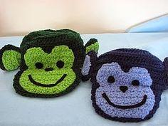 Monkey Hat Free Crochet Pattern
