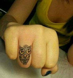 Like the idea of a ring finger tattoo