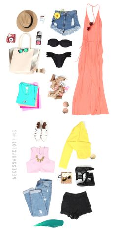 Packing List for a Warm Weather Vacation!
