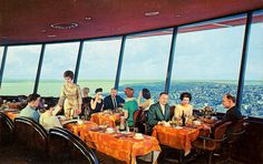Space Needle Restaurant - Seattle, Washington
