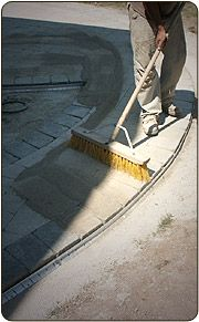 sweeping polymeric sand