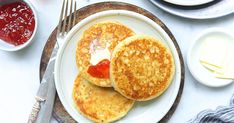 Crumpets, using sour