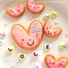 valentine cookies by tomoto