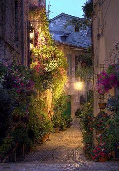 Dusk, Umbria, Italy photo via debbie