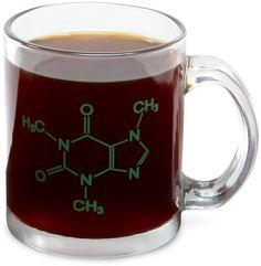 ThinkGeek :: Caffeine Mug